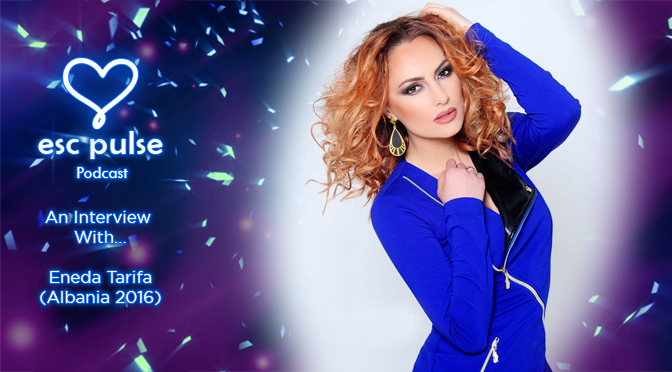ESC Pulse Video: Eneda Tarifa (Albania 2016) Interview – London Eurovision Party 2016