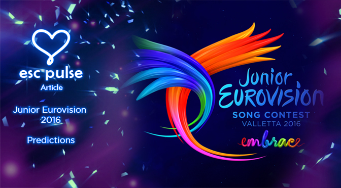 ESC Pulse Article: Junior Eurovision 2016 Predictions
