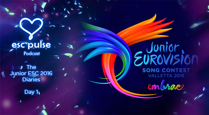 ESC Pulse Video: The Junior Eurovision 2016 Diaries – Day 1