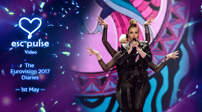 ESC Pulse Video: The Eurovision 2017 Diaries – 1st May