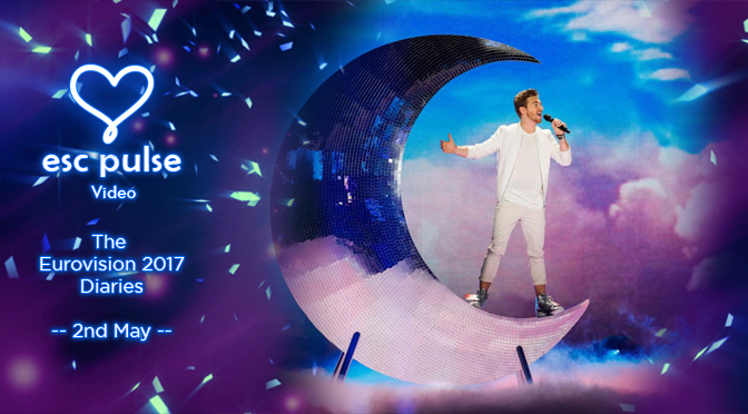 ESC Pulse Video: The Eurovision 2017 Diaries – 2nd May
