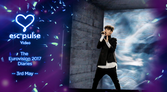 ESC Pulse Video: The Eurovision 2017 Diaries – 3rd May