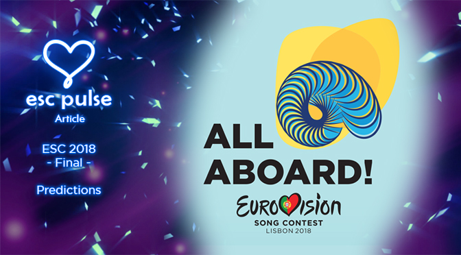 ESC Pulse Article: Eurovision 2018 Final Predictions