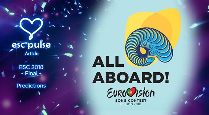 ESC Pulse Article: Eurovision 2018 Final Predictions