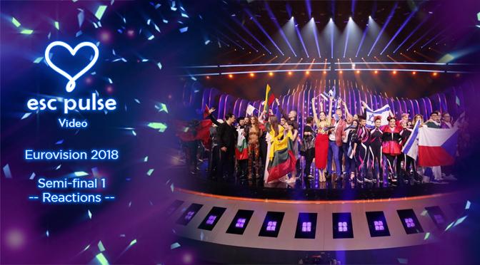 ESC Pulse Video: Eurovision 2018 Semi 1 Reactions